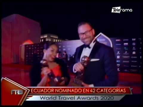 Ecuador nominado en 42 categorías World Travel Awards 2020