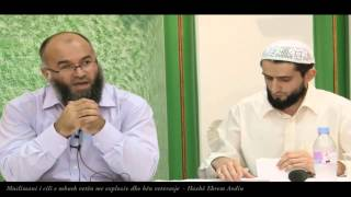 Muslimani i cili e mbush vetën me exploziv dhe bën vetvrasje - Hoxhë Ekrem Avdiu
