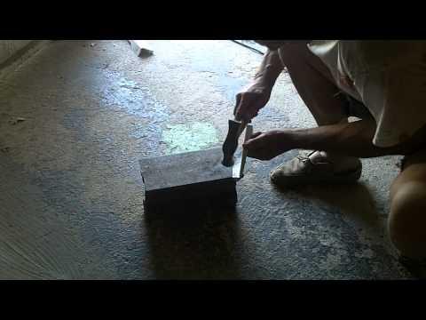 comment reparer trou bas de caisse