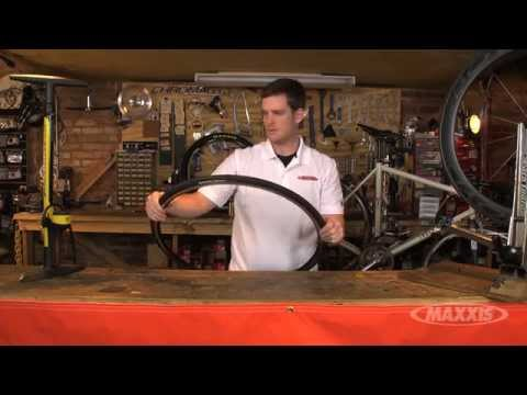 Mounting a Maxxis Tubular Road Bike Tire