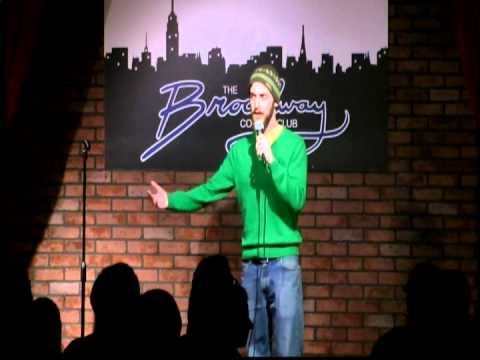 Brad Hagen being hilarious at Broadway Comedy Club