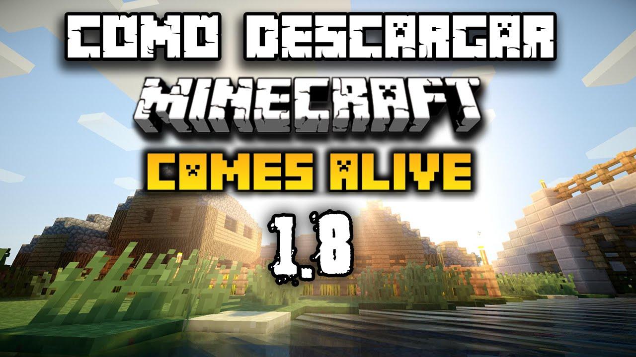 Minecraft 1.7.2 – Descargar E Instalar Comes Alive Mod