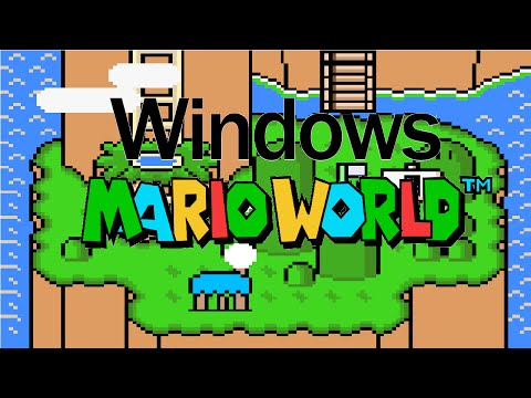 Windows Mario World (Smw Hack Longplay)