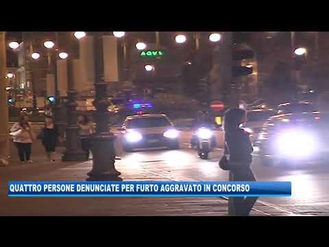 05/09/2020 - QUATTRO PERSONE DENUNCIATE PER FURTO AGGRAVATO IN CONCORSO