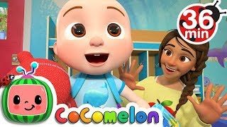 Video First Day of School + More Nursery Rhymes & Kids Songs - CoCoMelon MP3, 3GP, MP4, WEBM, AVI, FLV Maret 2019