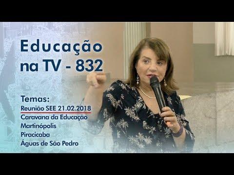 Reunião SEE 21 FEV / Caravana da Educação Martinópolis, Piracicaba, Águas de São Pedro