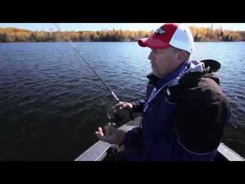 Catching Panfish Offshore on Natural Lakes in the Fall