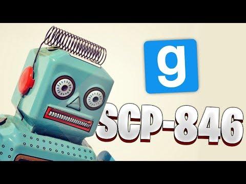 Garrys Mod - SCP RP // SCP-846 LE PETIT ROBOT DESTRUCTEUR ! - Garry's Mod