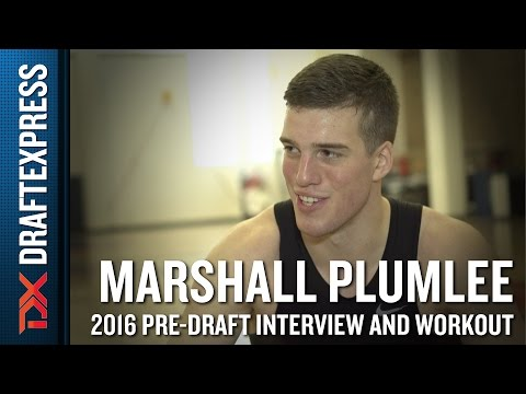 Marshall Plumlee 2016 NBA Pre-Draft Workout Video and Interview