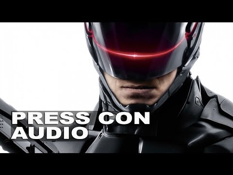 RoboCop 2014: Full Press Conference Audio
