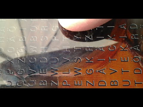 Video of ArtWords word search