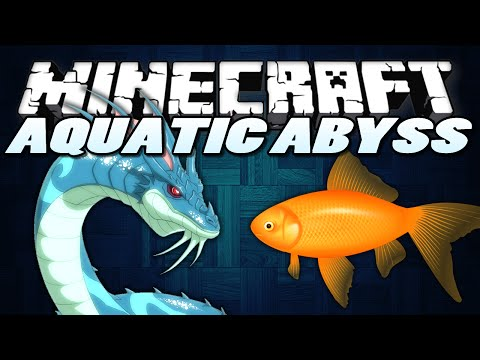 mods - In this Minecraft Mods Showcase, I show a Minecraft Mod called the Minecraft Aquatic Abyss Mod. This Minecraft Mod adds fish and even a Sea Monster into Minecraft!