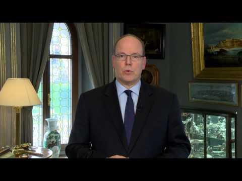 LikeBike Monte Carlo 2016  - Message de SAS le Prince Albert II, soulignant le partenariat avec Sa Fondation