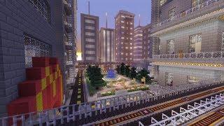 Minecraft Xbox - Galaxy City - World Tour - Part 1