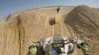 5. Raptor 350 Dune Riding