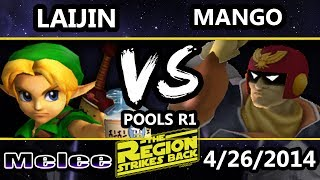 Bar Wars 2 – Laijin (Young Link) Vs. MIOM | Mango (Captain Falcon) Melee(THE REMATCH!!!!)