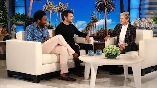 Video Donald Glover & Alden Ehrenreich Talk About Partying with Woody Harrelson & Jennifer Lawrence MP3, 3GP, MP4, WEBM, AVI, FLV September 2018