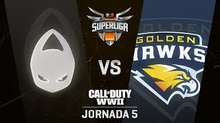 X6TENCE VS GOLDEN HAWKS - SUPERLIGA ORANGE COD - JORNADA 6 - #SuperligaOrangeCOD6