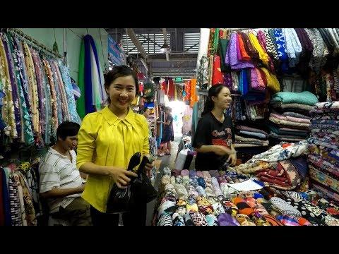 Em gái Bến Tre đi chợ Lớn mua vải may áo bà ba - Hương vị đồng quê - Bến Tre - Thời lượng: 30:31.