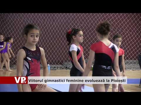 Viitorul gimnastici feminine evoluează la Ploiești