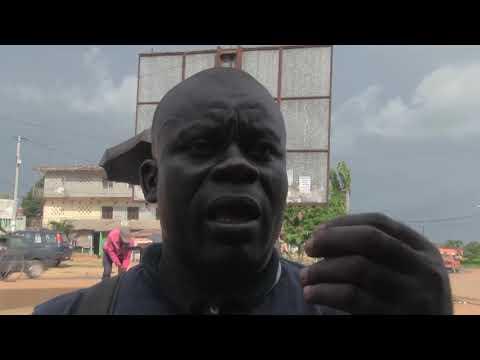 COTE D'IVOIRE: INTERVIEW DE M. ETEKOU LEON SUR LES PROBLEMES DE N'GATTY ET DE TIAHA