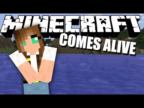 THE FIRST DATE! Minecraft Comes Alive #7