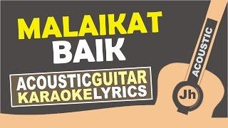 SALSHABILLA - MALAIKAT BAIK ( KARAOKE ACOUSTIC )