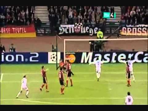zinedine zidane eurogoal vs bayern leverkusen (champions league 2002)