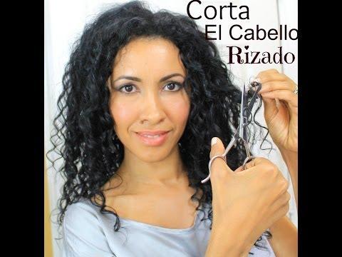 Como cortar el cabello rizado en capas
