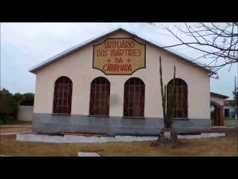 Santuário dos Mártires da Caminhada, Ribeirão Cascalheira, Prelazia de São Félix do Araguaia/MT.