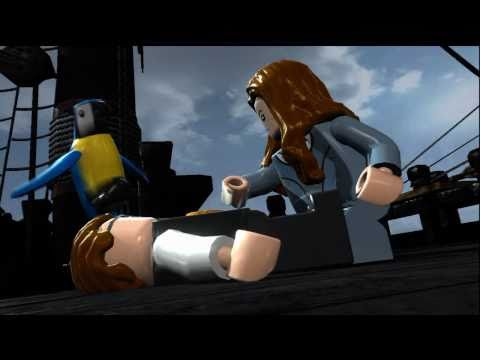 LEGO Pirates of the Caribbean – Demo Gameplay #1 Walkthrough Deutsch