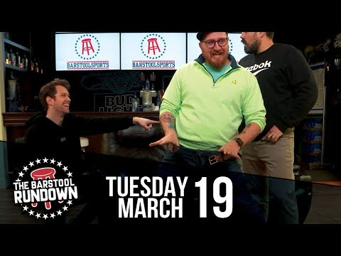 Big Cat and Uncle Chaps Trade Pants Live - March 19, 2019 - Barstool Rundown
