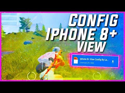 iPhone 8 wiew + 90 FPS config | Pubg Mobile iPhone 8 görünümü
