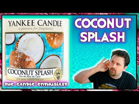 NEW - Yankee Candle - COCONUT SPLASH - JUST GO Collection - UK/EU Summer 2018 - Review / Evaluation