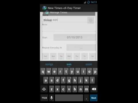Video of Pill Reminder AnyTimer
