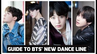 Video Guide to BTS' NEW DANCE LINE MP3, 3GP, MP4, WEBM, AVI, FLV November 2018