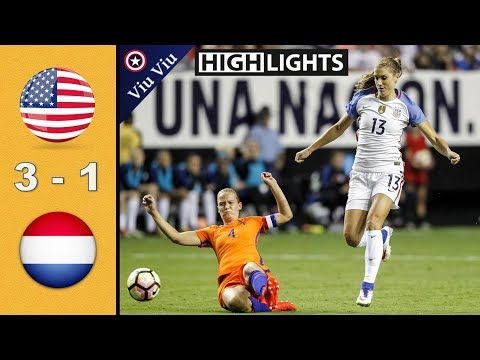 USA vs Netherlands 3 - 1 All Goals & Highlights | September 18, 2016