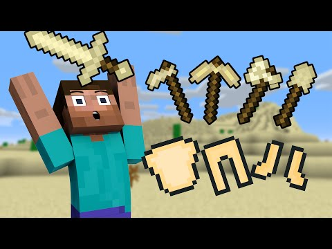 If Sand Tools Existed - Minecraft