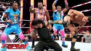 "Video Roman Reigns competes in a  ""One vs. All"" Match: Raw, January 11, 2016 MP3, 3GP, MP4, WEBM, AVI, FLV Juni 2018"