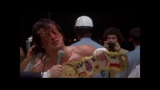 Rocky (1976) to Creed (2015) Tribute