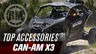 7. Top Can-Am Maverick X3 UTV Accessories
