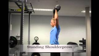 Exercise Index: Standing Shoulderpress