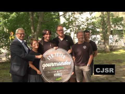 Québec appuie les Fêtes gourmandes Desjardins de Neuville