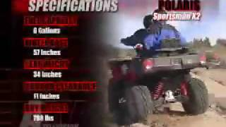 10. ATV Television Test - 2006 Polaris Sportsman 500X2
