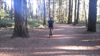 Accordion...On A Unicycle...In The Woods
