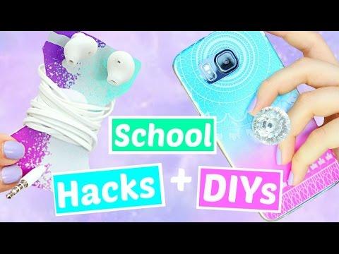 Video 10 Back to School Hacks and DIYs download in MP3, 3GP, MP4, WEBM, AVI, FLV January 2017