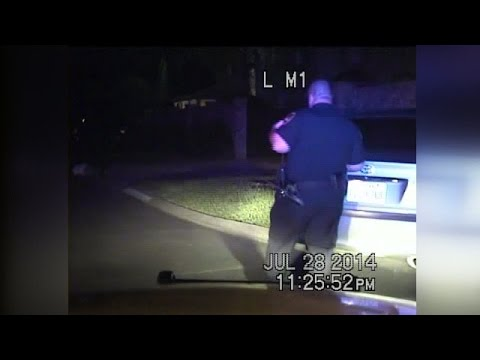 Dashcam video shows officer shoot man in self-defense