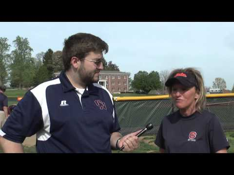 C-N Softball: Vickee Kazee-Hollifield post Anderson 4-24-14
