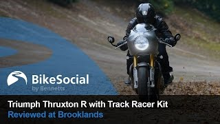 9. Review: Triumph Thruxton R with Track Racer Kit at Brooklands | BikeSocial