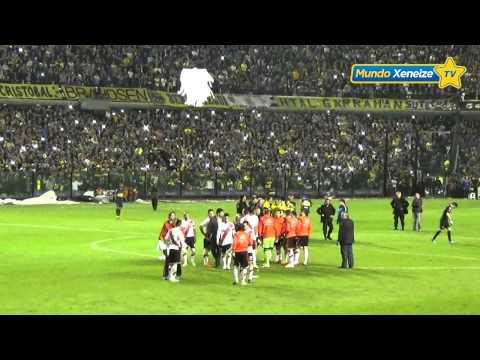 El dron Boca - River /Copa Libertadores 2015 - La 12 - Boca Juniors